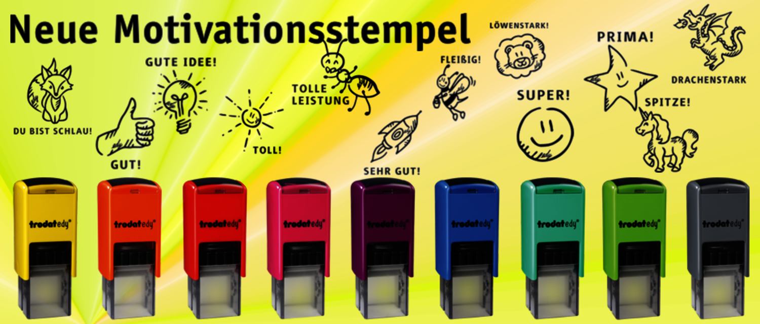 Die EDY Motivationsstempel